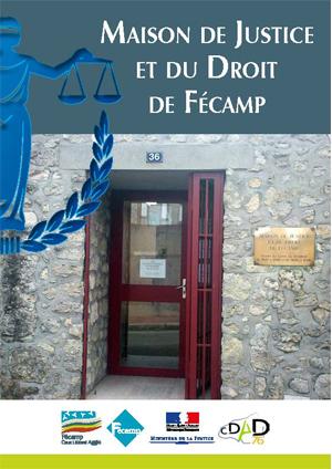 Couverture de la plaquette de la Maison de Justice et du Droit