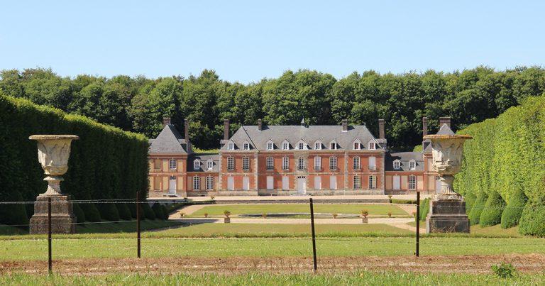 Vue du château du Vaudroc