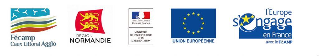 Logos des partenaires du DLAL FEAMP