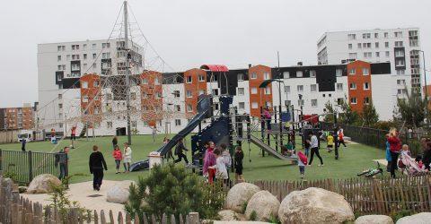 Vue du quartier du Ramponneau