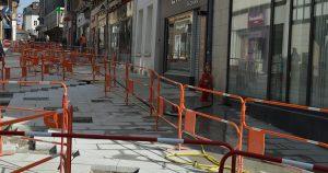 rue jacques Huet en travaux