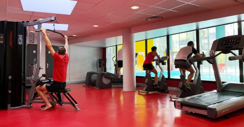 Photographie Cardio-Training, sportif en action