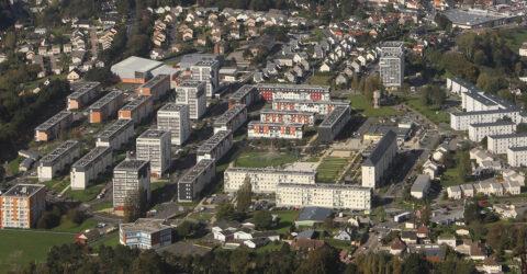 Vue aérienne du Ramponneau