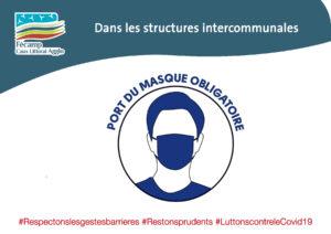 Port du masque dans les structures intercommunales