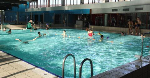 Vue bassin de la piscine