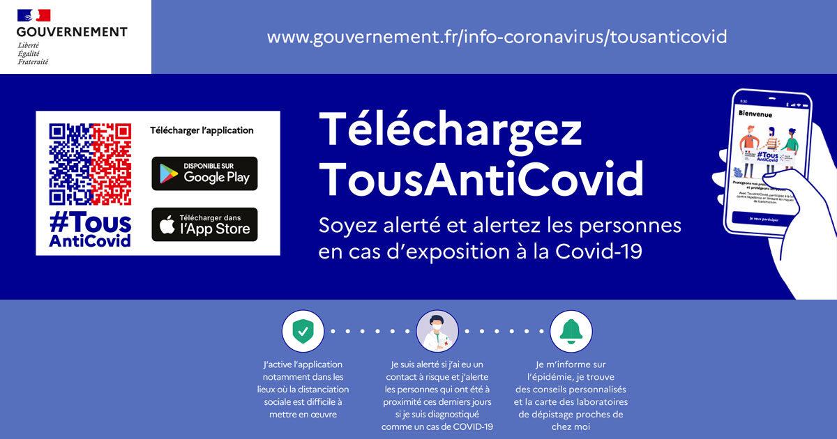 Application TousAntiCovid